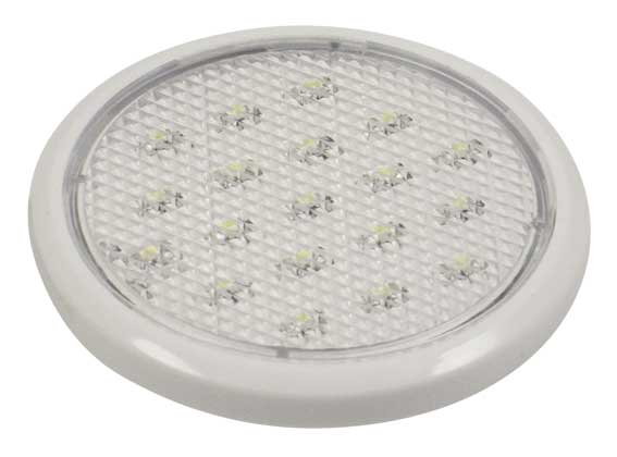 Spot plan LED 1,25w Vit