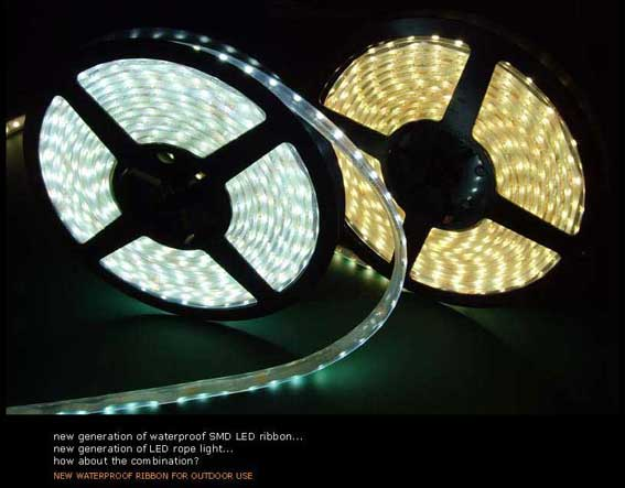 LED strip 204Lm/m, 500mm, Röd