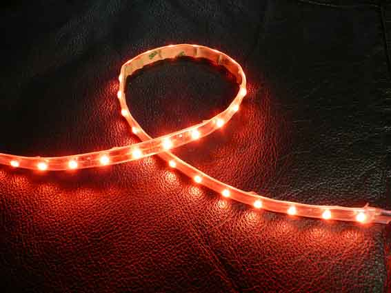 LED strip 204Lm/m, 500mm, R�d