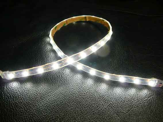 LED strip 190Lm/m, 300mm, Varmvit