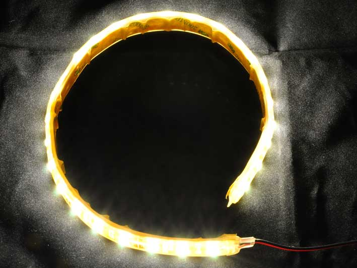 LED strip 540Lm/m. Varmvit, 5m rulle