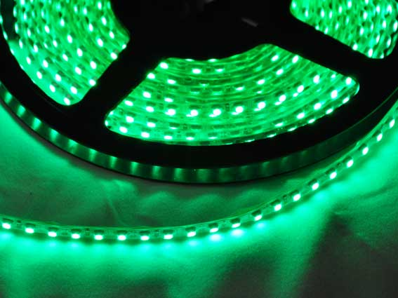 LED strip 440Lm/m, 5m rulle, Grön