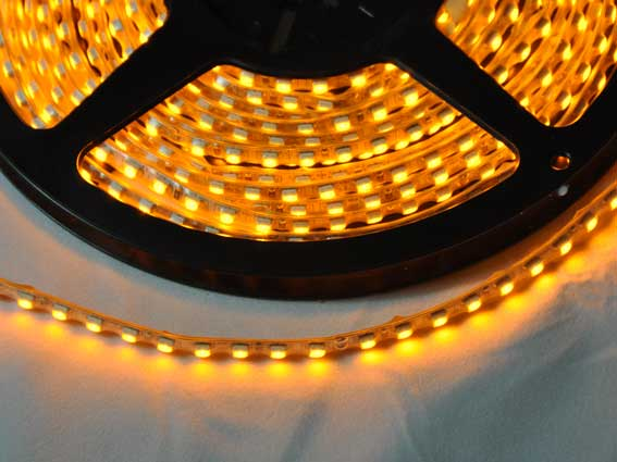 LED strip 280Lm/m, 5m rulle, Gul