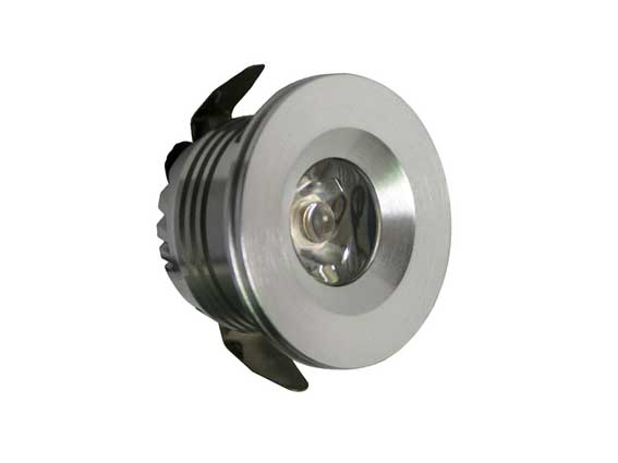Downlight LED rund 45° 3w, 120Lm
