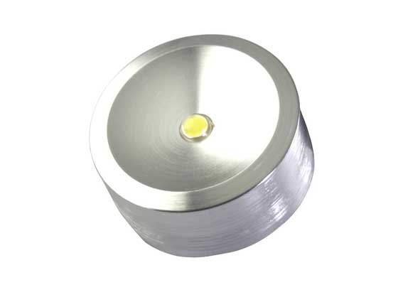 Downlight LED puck 120° 1w, 85Lm