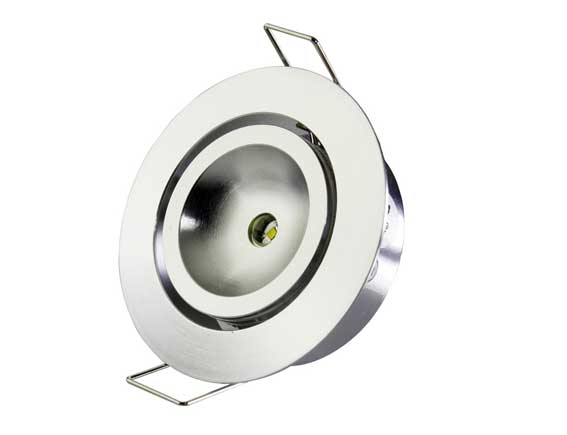 Downlight LED rund justerbar 120� 3w, 120Lm
