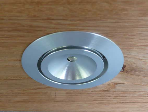 Downlight LED rund justerbar 120° 3w, 120Lm