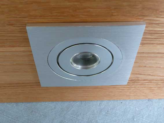 Downlight LED justerbar 1w, 45Lm