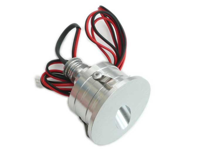 Downlight LED vägg/trappa rund 45° 1w, 60Lm