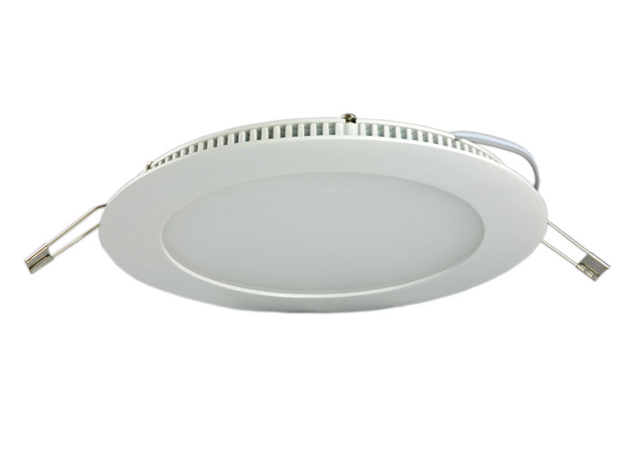 Downlight LED 7w, Vit, IP44, 400Lm
