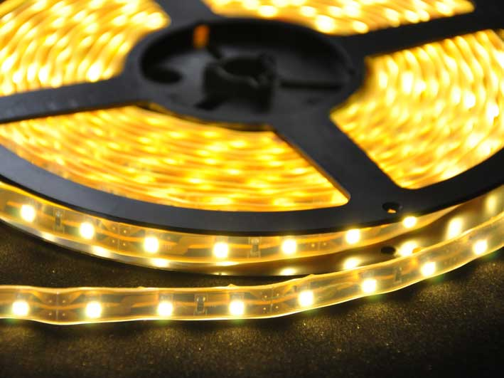 LED strip 190Lm/m, 5m rulle, Varmvit