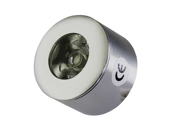 Downlight LED puck 45° 1w, 85Lm