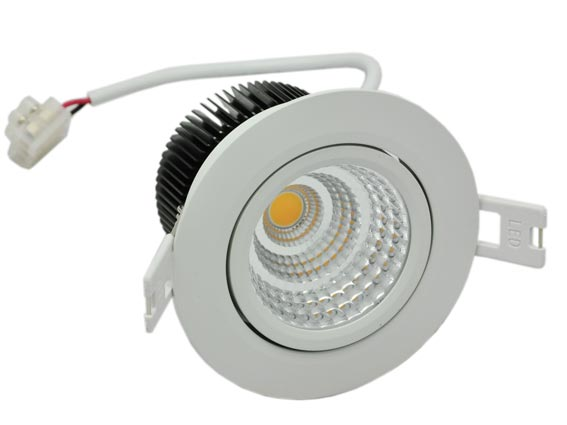 Downlight LED justerbar 8w, 616Lm